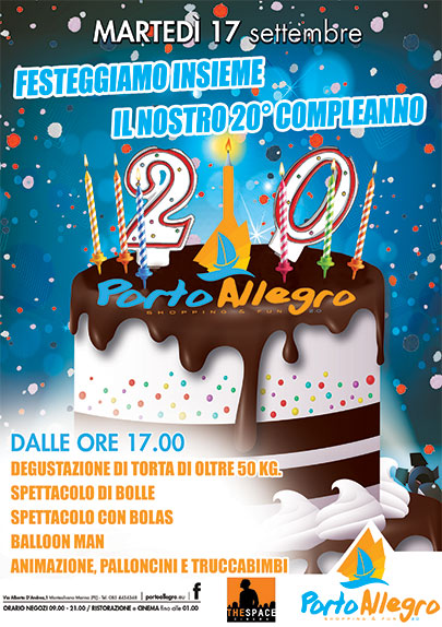 20° Compleanno